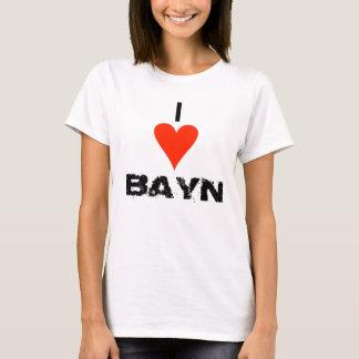 "Ladies ""I heart Bayn"" shirt"