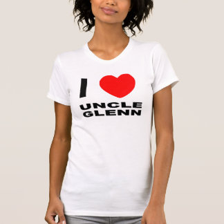 Ladies I Heart Uncle Glenn Fitted Tank