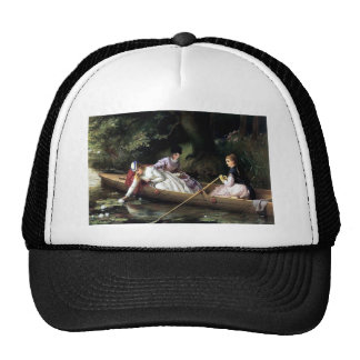 Ladies in a Boat painting Trucker Hat