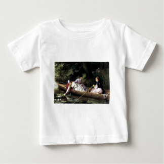 Ladies in a Boat painting Infant T-shirt