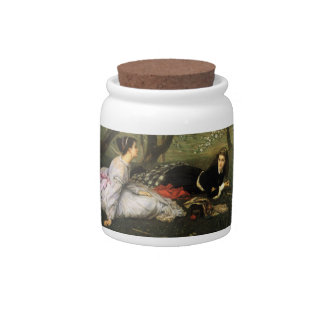 Ladies in Apple Blossoms Candy Jar