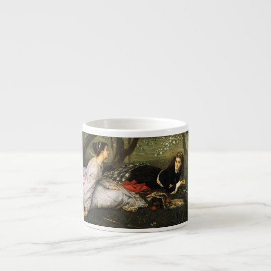 Ladies in Apple Blossoms Espresso Cup