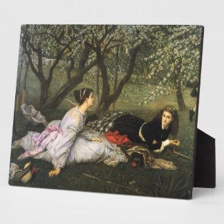 Ladies in Apple Blossoms Plaque