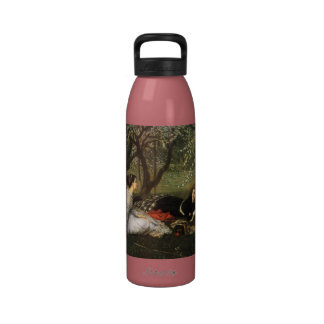 Ladies in Apple Blossoms Reusable Water Bottle