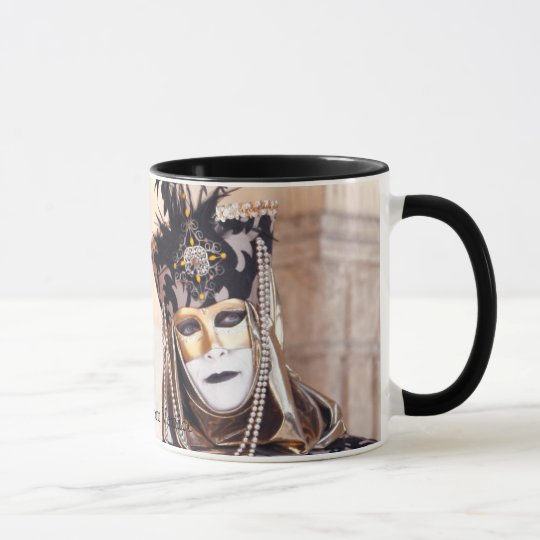 Ladies in Venice Carnival Mug