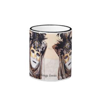 Ladies in Venice Carnival Mug