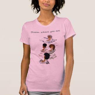 Ladies inspirational t-shirt