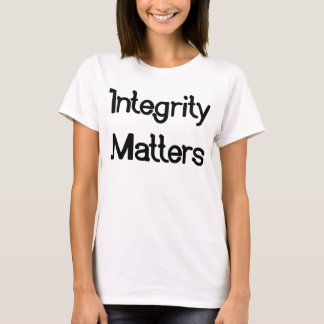 Ladies' Integrity Matters T-shirt