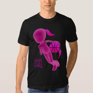 Ladies JAM GIRL Basketball T-Shirt