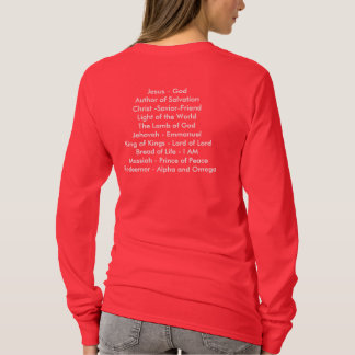 Ladies Jesus Name above all names Pullover