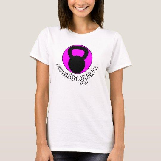 """Ladies Kettlebell """"Swinger"""" T-shirt"""