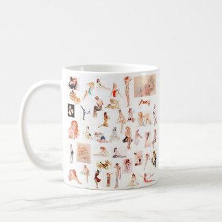 Ladies Ladies Ladies! Classic White Coffee Mug