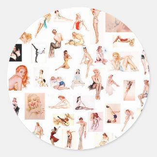 Ladies Ladies Ladies! Sticker