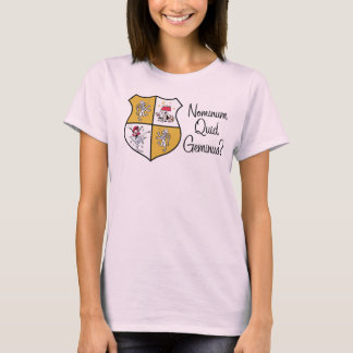 Ladies' Larry Miller Drinking Society Shirt