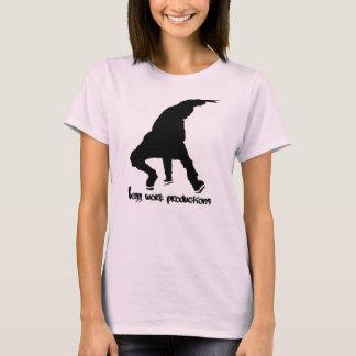 Ladies leggwork Prod./Logo Light Pink T-Shirt