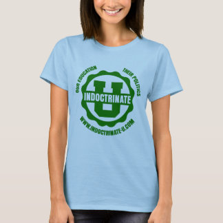 Ladies Lilac Baby Doll Radiation Logo T-Shirt