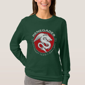 ladies long sleeve dragon T-Shirt