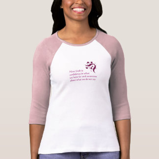 Ladies Long Sleeve Faith and Hope Shirt