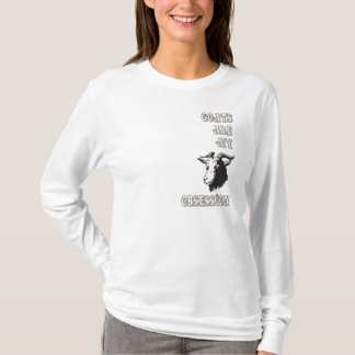 Ladies Long Sleeve Goats are my Obsession Shirt
