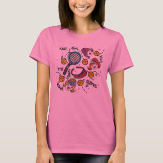 Ladies Long Sleeve -Tennis Girls T-Shirt