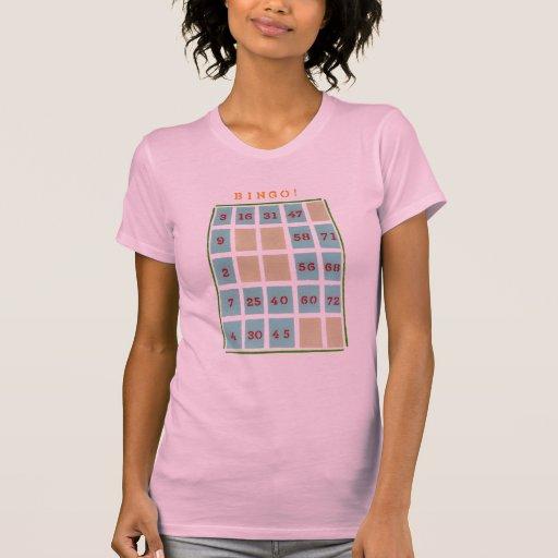 Ladies Love Bingo Tshirts