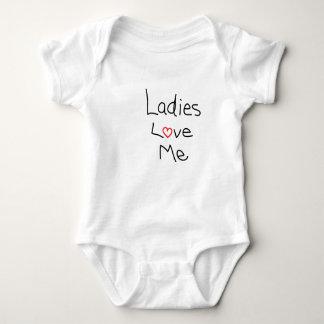 Ladies Love Me Baby Bodysuit