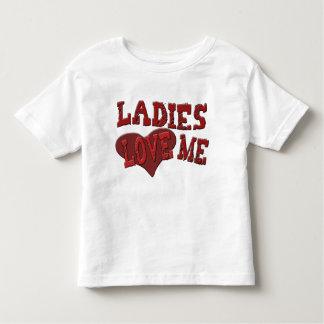 Ladies Love Me Kids Toddler T-shirt