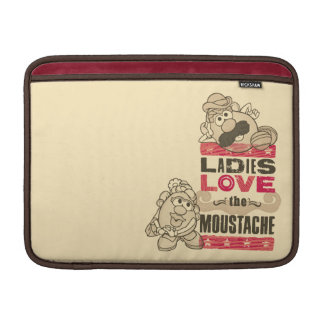 Ladies Love the Moustache Sleeve For MacBook Air