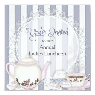 LADIES LUNHEON INVITATION - TEA TIME