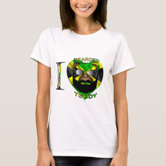 Ladies LUV Bearded Teddy Jamaica T-Shirt