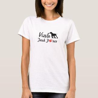 """Ladies Magyar Vizsla T-shirt """"Vizsla task Force! """""""