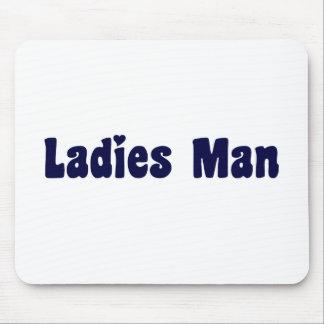 Ladies Man Mouse Pad