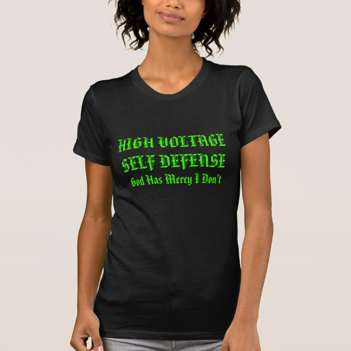 Ladies Mean Green High Voltage T-Shirt