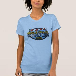 Ladies Medium Pale Blue Arms of Life Shirt