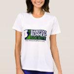 Ladies Microfiber T Negative Logo+URL Tshirts