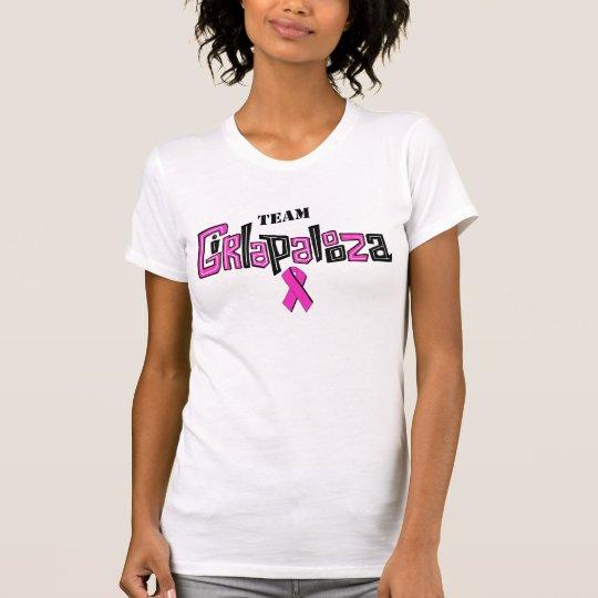 Ladies Microfiber T sleeveless team shirt