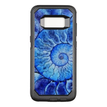 Beach Themed Ladies Modern Abstract OtterBox Commuter Samsung Galaxy S8 Case