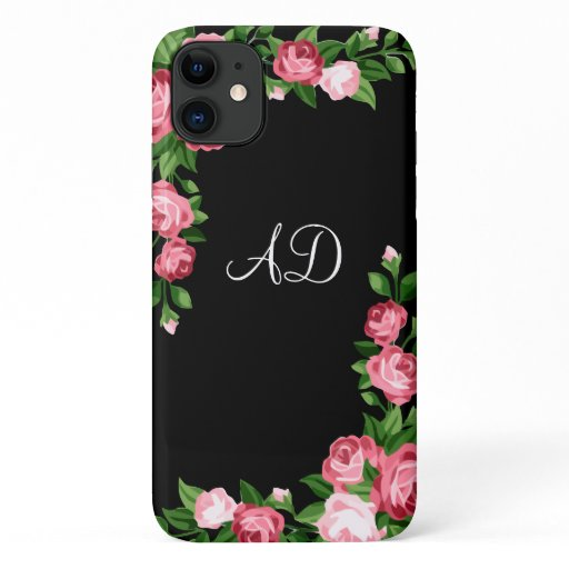 Ladies Monogram Style iPhone 11 Case