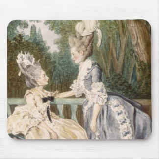 Ladies' Morning Dress, 1771 (colour engraving) Mouse Pad