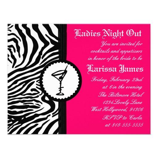 ladies night invitations - photo #5
