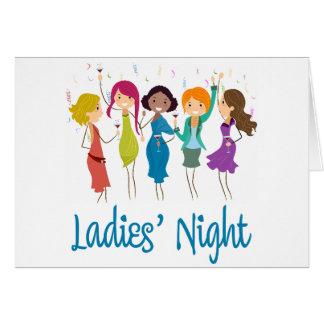 Ladies' Night Card