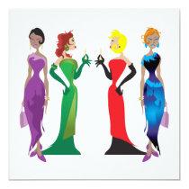 Ladies' Night Custom Invitation