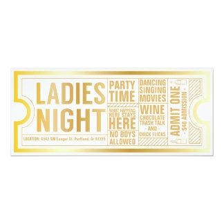 Ladies Night Invitation-Customize it! Card