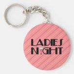 Ladies Night Keychains