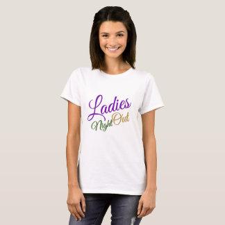 Ladies Night Out Basic Tee Shirt