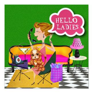Ladies Night Out - SRF Card