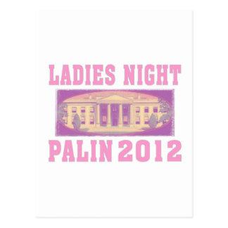 Ladies Night Palin 2012 Postcard