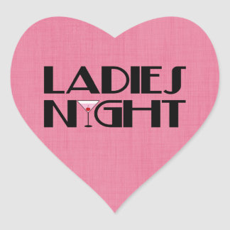 Ladies Night Sticker