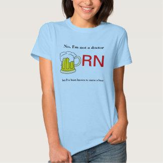 Ladies Nurse a Beer Shirt