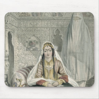 Ladies of Caubul in their In and Out-of-Door Costu Mousepad
